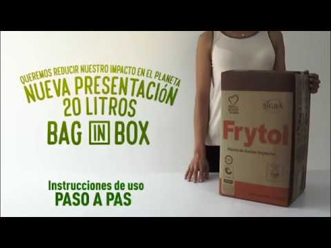 Uso Aceites en Bag In Box