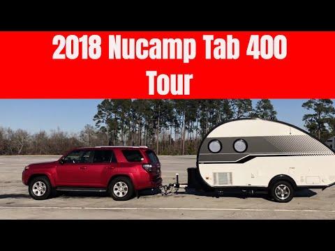 2018 NuCamp T@B 400 Owner Tour