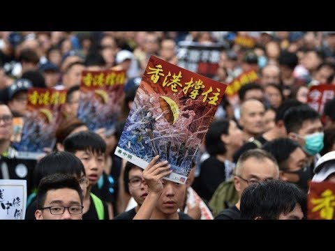 陈破空:大游行,感动香港的昔日影后。三峡大坝曝险情,谁在力挺李鹏家族