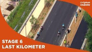 last kilometer stage 6 critrium du dauphin 2017