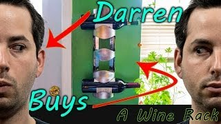 Darrenreviews: Ikea's $10 Vurm 4 Bottle Wine Rack - Reviewed!