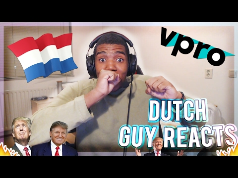 Thumbnail: Dutch guy Reacts to 'The Netherlands welcomes Trump in his own words!'