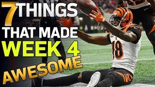 7 Things that Made Week 4 AWESOME! | NFL Highlights