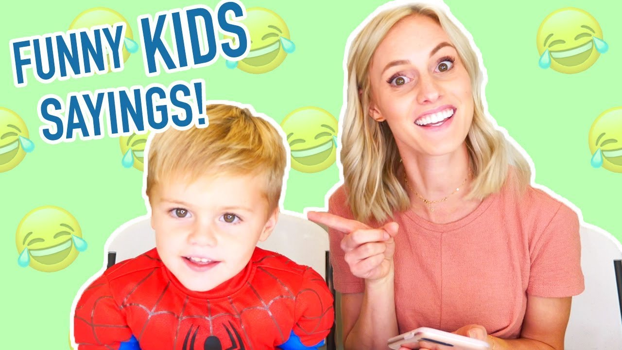 FUNNY KID SAYINGS! Jackson's Funniest Sentences Throughout His Life