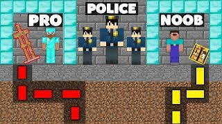 Minecraft Battle: NOOB vs PRO : SECRET MAZE DIAMOND PRISON ESCAPE Challenge in Minecraft Animation