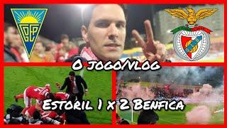 O JOGO/VLOG Estoril 1 x 2 Benfica! Nunca perder a esperança! Jogadores Estoril agressivos...