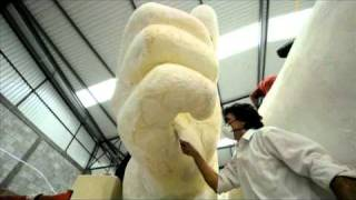 Preparan en México escultura para Bicentenario de Independencia