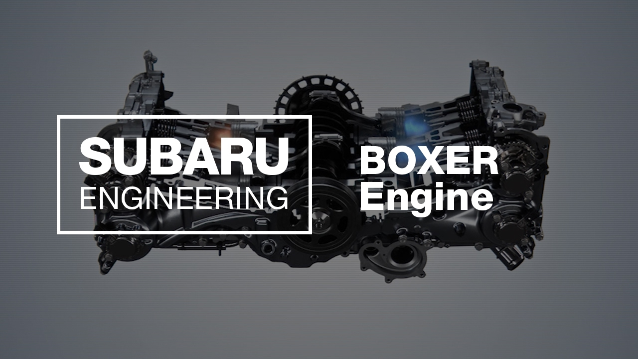 how does the subaru boxer engine work 2017 updated  [ 1280 x 720 Pixel ]