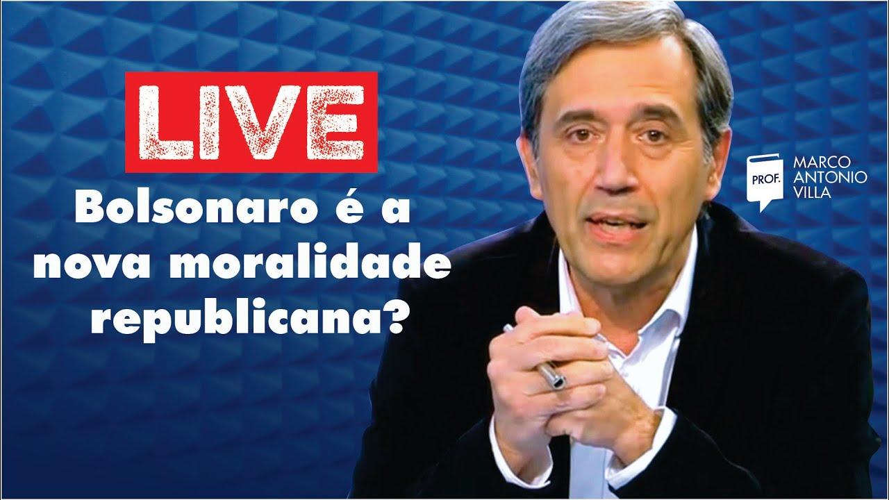 Live Sábado: Bolsonaro é a nova moralidade republicana? 15/08/20