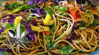 Asian Noodle Salad - Video Recipe