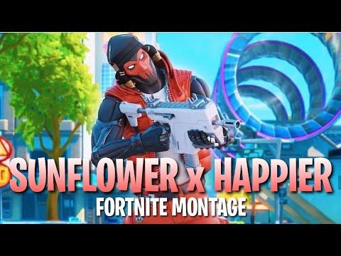 "Fortnite Montage ""Happier & Sunflower"" RemixMashup by Dj Pyromania"