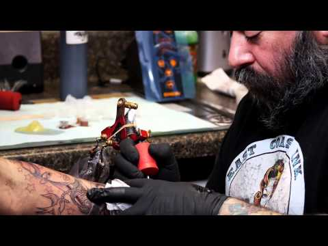 Tattoo Artist T-Bone of East Coast Ink & Body Piercing