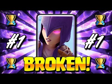 The #1 Most BROKEN DECK in Clash Royale HISTORY!! NO SKILL NEEDED! Mp3