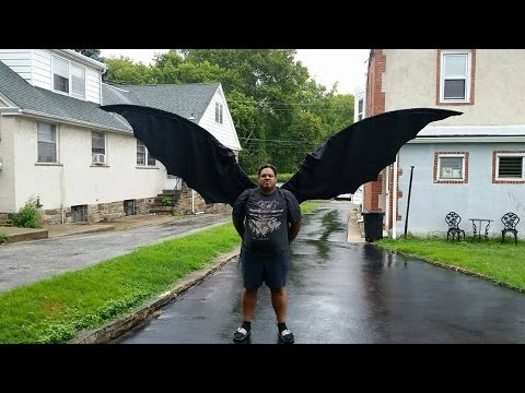Cosplay wings tutorial - YouTube
