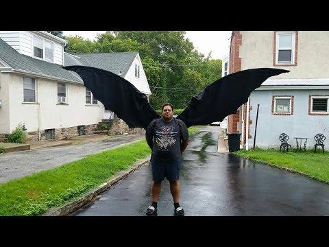 3ec40c467 Cosplay wings tutorial - YouTube