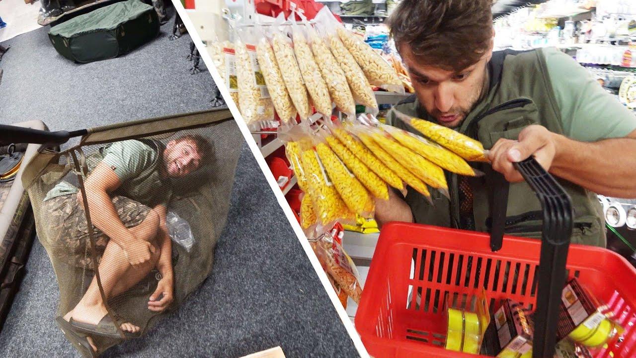Šílené nákupy Rybářského vybavení!