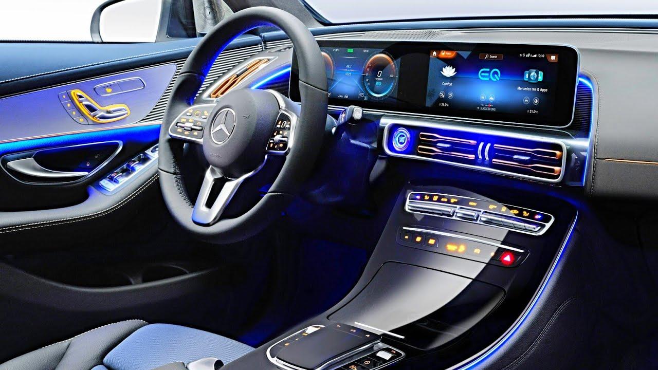 2019 Mercedes EQC - INTERIOR - YouTube
