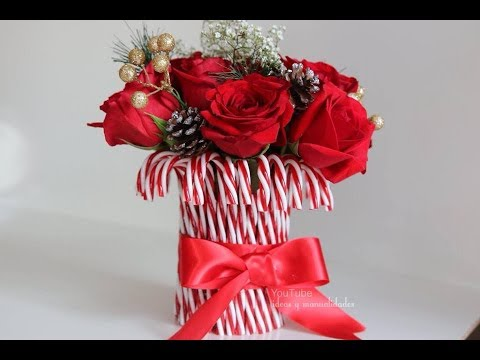 Centro de mesa Navideño / Ideas para regalar en esta Navidad  / ideas y manualidades