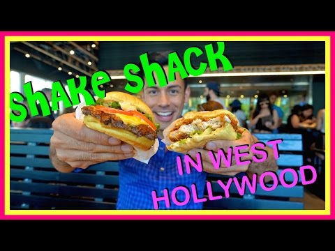 California's First Shake Shack Opens In West Hollywood