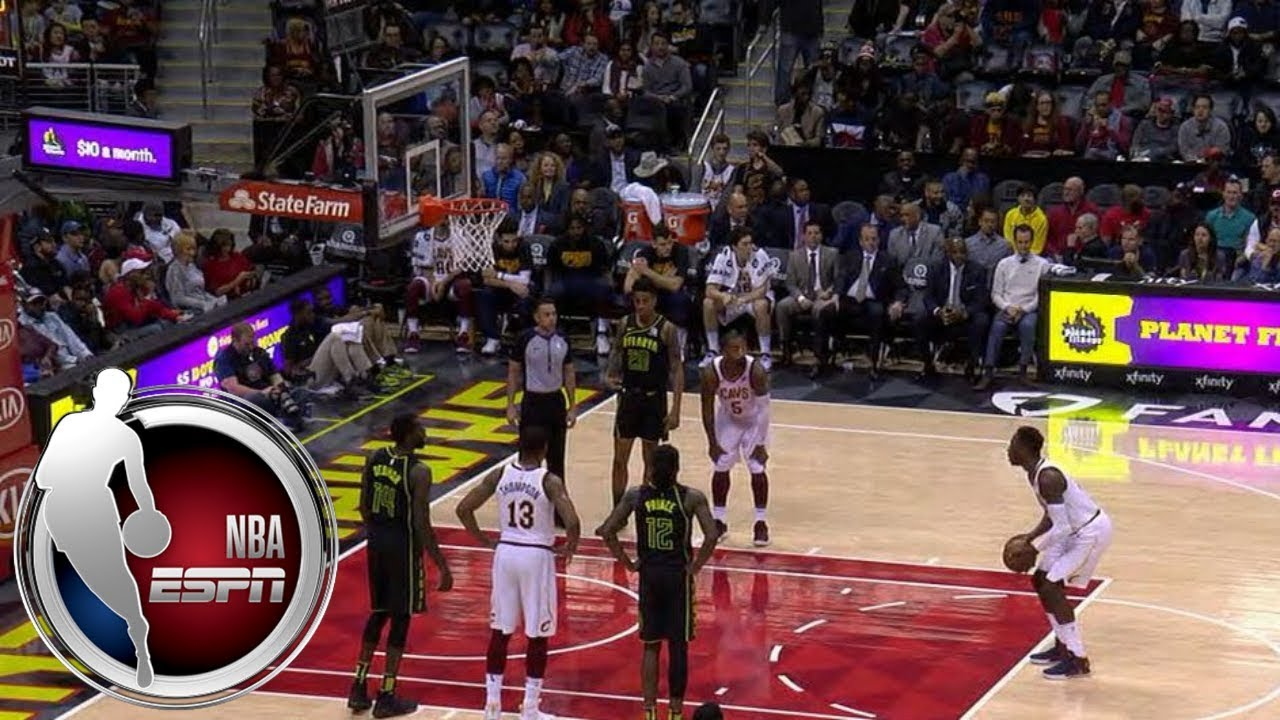 Hawks fans chant 'LeBron will leave you' as Cavaliers players shoot free throws | ESPN