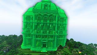 BUILDING GREEN STEVE'S HOUSE ON GREEN666