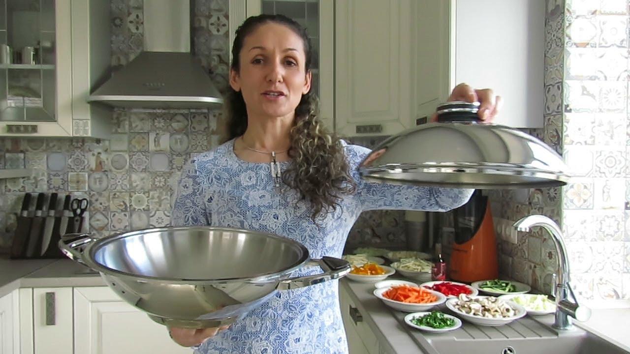 Готовим в цепторовской сковороде винегред