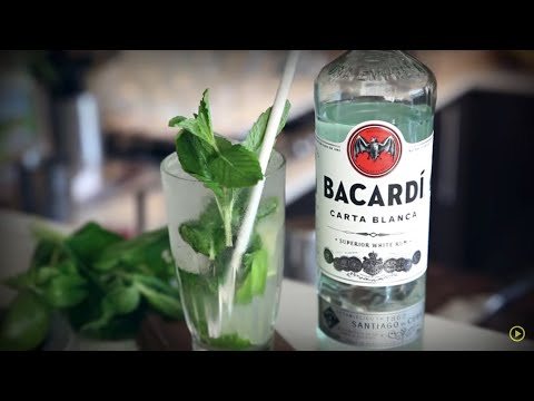 MOST REFRESHING Mojito With Bacardi Rum | Drinks Network