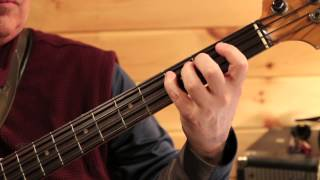 Real Bass Lessons 15 - Motown 3