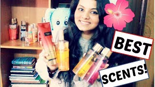 BEST SCENTS FROM VICTORIA'S SECRET! FRAGRANCE REVIEW 2018 | JYOTSNA MARISETTY