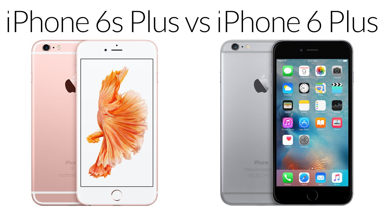 iphone 6s plus vs iphone 6 plus vale a pena o upgrade. Black Bedroom Furniture Sets. Home Design Ideas