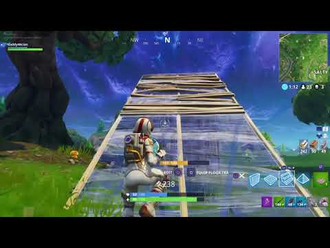 Did I come across a noob in Fortnite Battle Royale