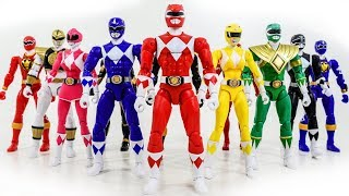 Download Power Rangers & Marvel Avengers Toys Pretend Play   Mighty Morphin Vs Thanos Giant Villains Army Mp3 and Videos