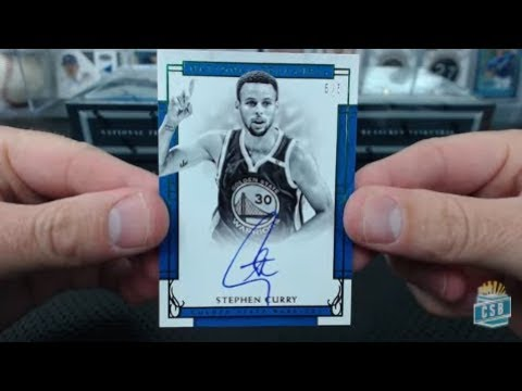 2016-17 Panini National Treasures Basketball 4 Box Case Break #3
