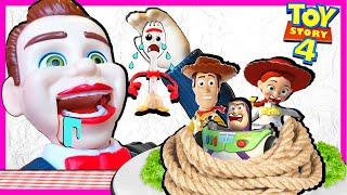 Toy Story 4 Benson Dummy Took My Toy Story 4 Toys | Forky saves Kin Tin!
