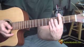 Oasis - Champagne Supernova (Guitar Chords, Strumming Pattern, Intro, Chorus, Verse)