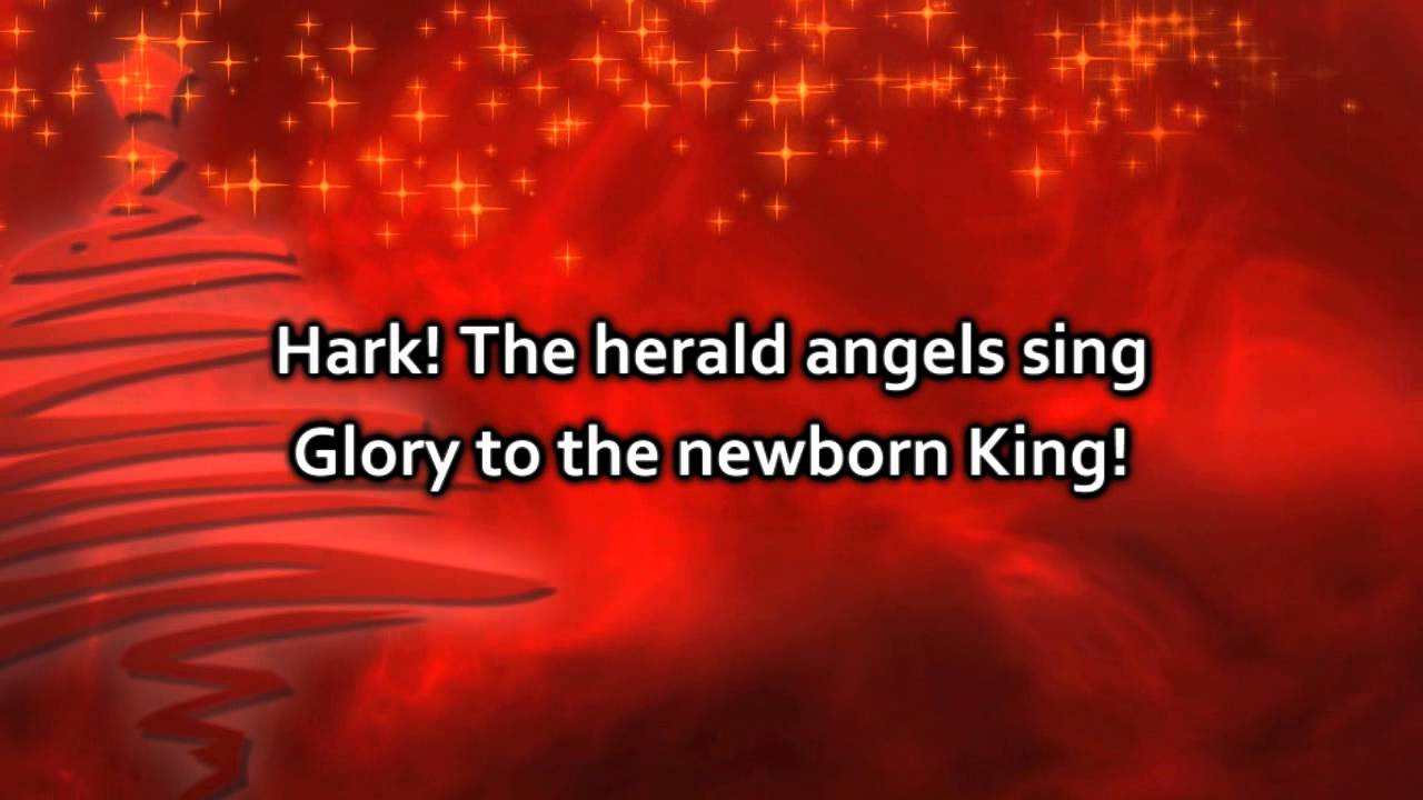 hark the herald angels sing lyrics pdf