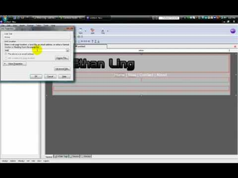Nvu Open Source Web Design Youtube