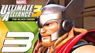 Marvel Ultimate Alliance 3 - Gameplay Walkthrough Part 3 - Ultron & Ultimo (Full Game) Switch