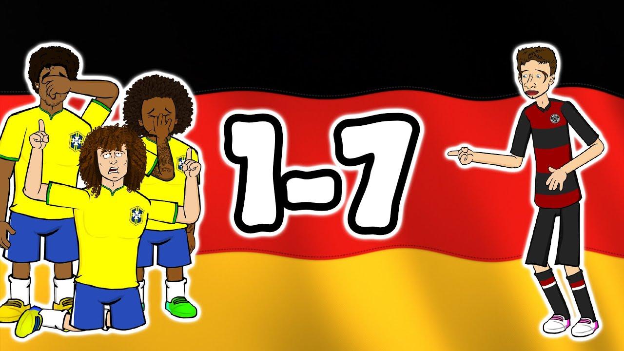 Download 🏆1-7! Germany destroy Brazil!🏆 (World Cup 2014 Semi-Final Parody Goals Highlights)