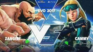 SFV: EVO 2017 - Day 2 - Top 32 to Top 16 - CPT2017