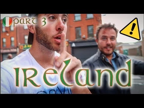 (TOP SECRET!) The Most EXCLUSIVE UNDERGROUND Pub in Dublin | MYSTERY FLIGHTS IRELAND PART 3