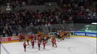 IHWC 2010 QF - Germany vs Switzerland - unbelievable conclusion (UNCUT)