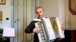 Bibbidi Bobbidi Boo - Walt Disney - Accordion - Happy Birthday Fran (AccordionLadyMi)