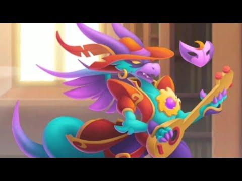 Hatching Bard Dragon, Best Legendary Dragon Hero Quest Island ! Dragon City
