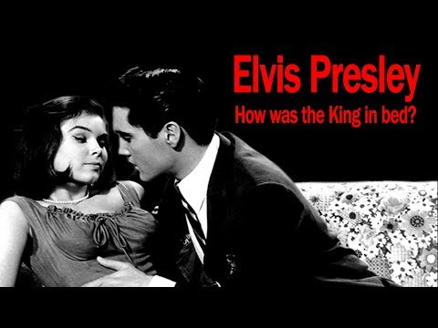 Elvis Presley in bed. How good was the King?