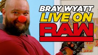"Bray Wyatt LIVE On WWE Raw Tonight, ""Mind-Blowing"" Number Of WWE Stars Contacted AEW"