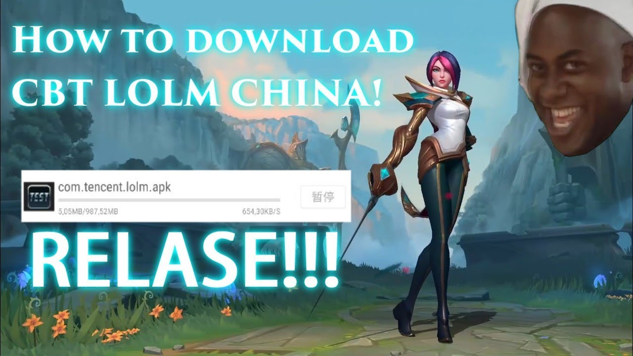 HOW TO DOWNLOAD CBT LEAGUE OF LEGENDS WILD RIFT MOBILE ...