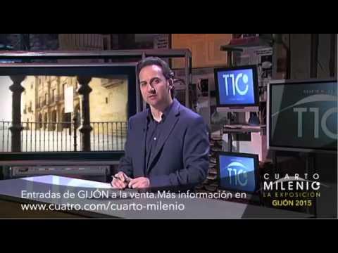 spot Expo CUARTO MILENIO en Metrópoli GIJÓN