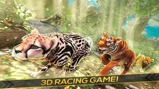 🐈2017 Wild Cheetah Simulator-Симулятор диких гепардов-By5,0★ Best Freestyle Games-Android