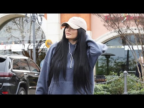 Kylie Jenner Does A Makeup Run In Her Yellow Ferrari thumbnail